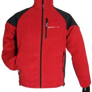 Jacheta din Polartec model Kon, rosu