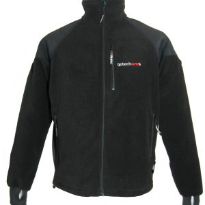 Jacheta din Polartec model Kon, negru