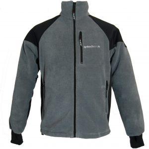Jacheta din Polartec model Kon, gri